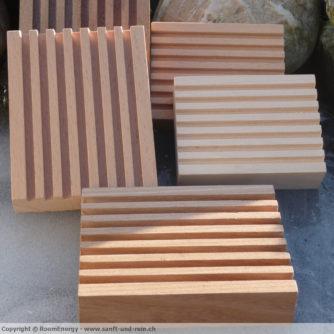 Holzseifenschalen 13cm x 10cm