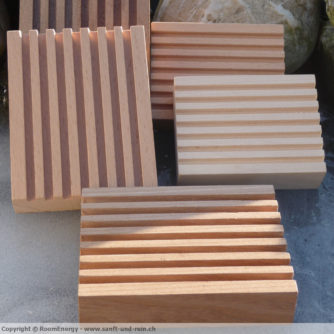 Holzseifenschalen 10cm x 8cm